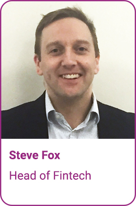 Steve Fox, Head of FinTech