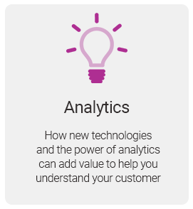 Role of analytics in Affordability