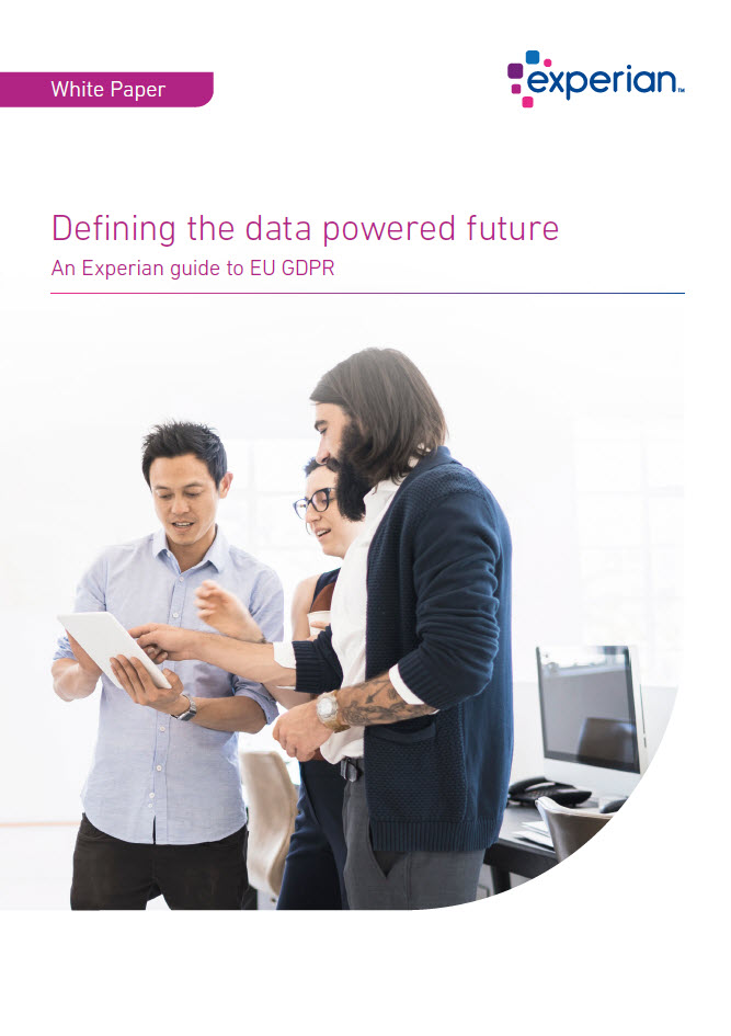 Defining the data powered future